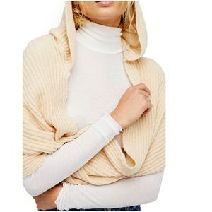 Free People Hooded Infinity Scarf Shawl